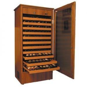 מקררי יין מעץ