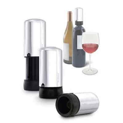 Pulltex Vacum Wine Saver & Stopper - משאבת ואקום פקק