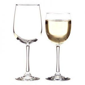 שישיית כוסות יין לבן וינה 0.37L