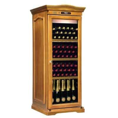 ארון יין BACCHUS Genius Wood Elegance 32 ל- 132 בקבוקים