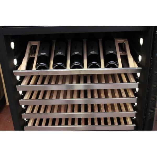 מקרר יין 303 בקבוקים מקצועי מפואר מדחס. דגם VI300S