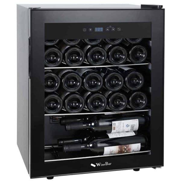 מקרר יין מדחס 23 בקבוקים
