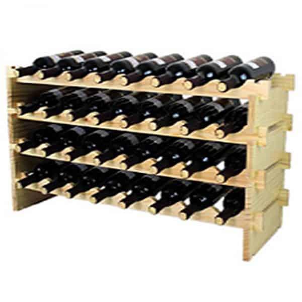 כוורת יין WineBar ל-24 בקבוקי יין