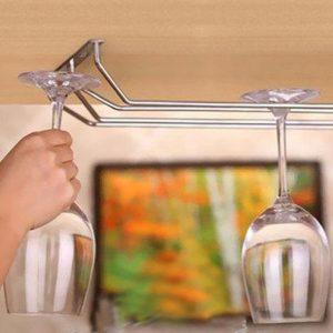 מתקן תלייה לכוסות יין